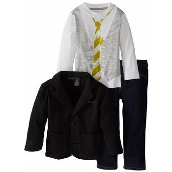 海淘套装推荐:Calvin KleinCalvin Klein3243059-99CK男童