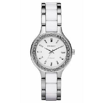 海淘女士手表推荐:DKNYDKNYB004N8T2YA时尚陶瓷腕表