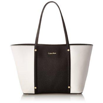 海淘单肩包推荐:Calvin Klein Key Item Saffiano Tote H4aa11zg真皮旅行