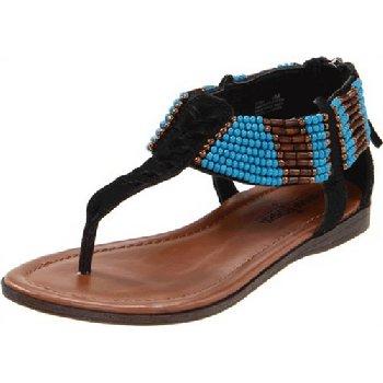 女王也爱民族风 海淘凉鞋推荐: